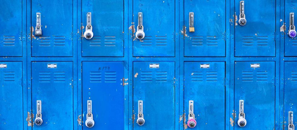 school lockers essay